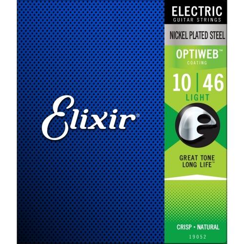 ELIXIR 010-046 OPTIWEB LIGHT žice za električnu gitaru
