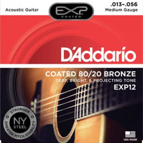 daddario EXP12 13-56 žice za akustičnu gitaru