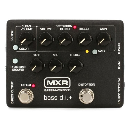 MXR M80 BASS DISTORTION + (11180000001) pedala