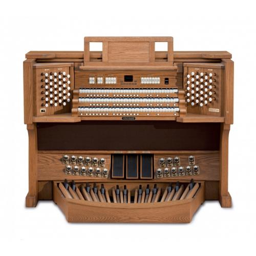Viscount UNICO 500, DARK 3-manuala, pedale 32 note straight concave sa klupom -  klasične orgulje