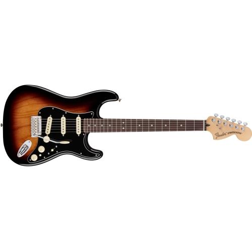 Fender El gitara 014-7103-303 Deluxe Stratocaster®, Pau Ferro Fingerboard, 2-Color Sunburst