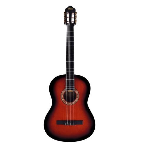 Valencia Klasična gitara set VC264CSB DELUXE sa futrolom classic sunburst