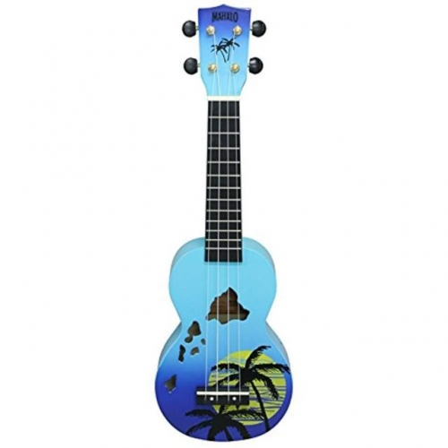 MAHALO MD1HABUB HAWAII Blue Burst - ukulele