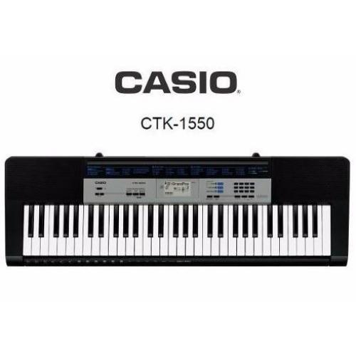 CASIO CTK1550 sintisajzer sa adapterom