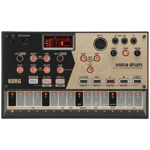 KORG VOLCA-DRUM digital percussion sintisajzer