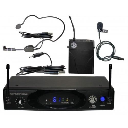 TOPP PRO TMW-U1-100HLG UHF bežični buba-pilot-instr mikrofon