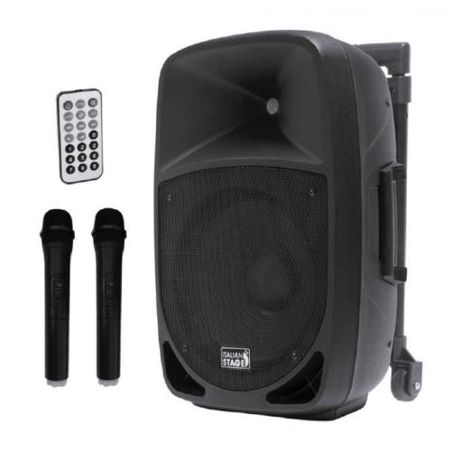 ITALIAN STAGE FR12AW 12\'\' portabilni MP3 SD-USB-BT aktivni zvučnik sa bežičnim mikrofonom