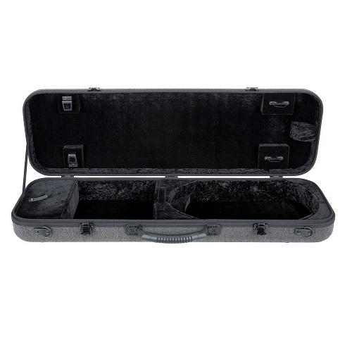 GEWA kofer za violu 309121 BIO-S 4/4 grey/black četvrtasti