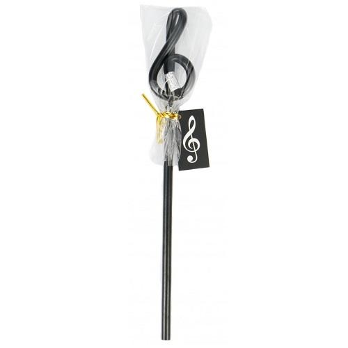 AGIFTY B 1023 Pencil g-clef black (L: 24 cm) - olovka
