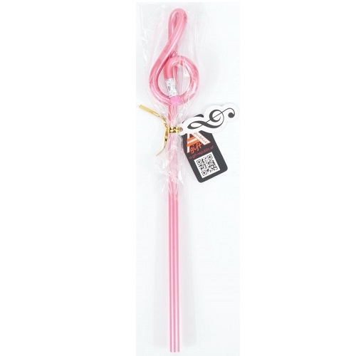 AGIFTY B 1092 Pencil g-clef pink (L: 24 cm) - olovka