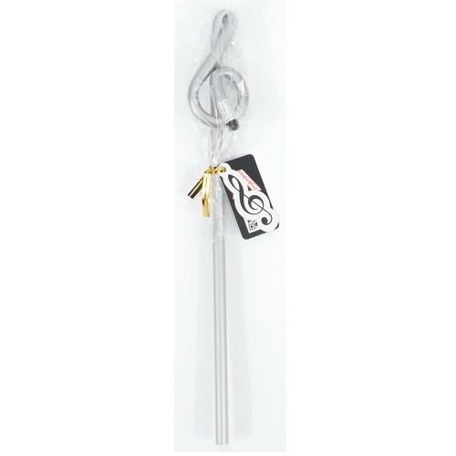 AGIFTY B 1094 Pencil g-clef silver (L: 24 cm) - olovka