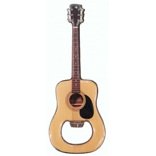 AGIFTY B 9000 Bottle opener with magnet guitar L: 12 cm Metal - otvarač za boce
