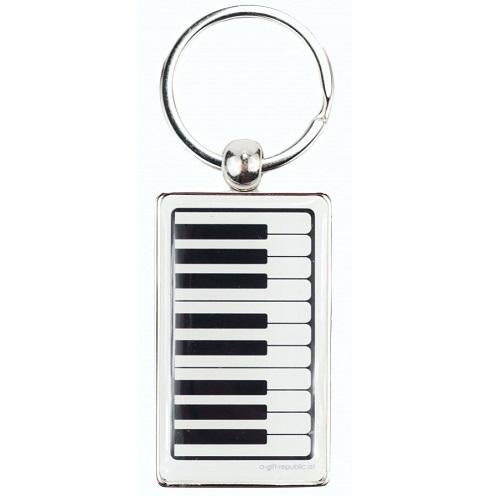 AGIFTY K 1041 Keyring keyboard white 8.5*3 cm - privjesak za ključeve