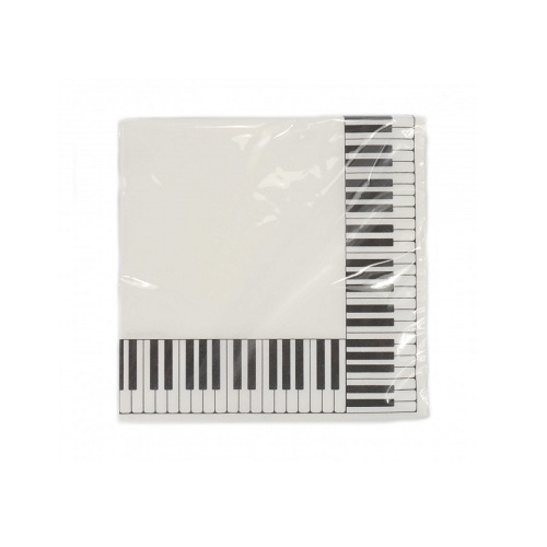 AGIFTY T 1005 Napkin keyboard 33*33 cm 3-ply 20 sheets/pack - salvete