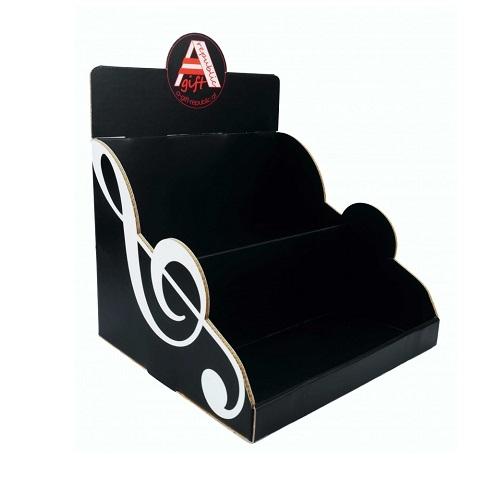 AGIFTY V 1006 countertop display cardboard black 25*26*32cmH - izložbeni stalak