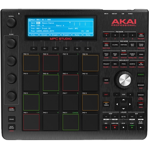 AKAI MPC STUDIO BLK music production kontroler