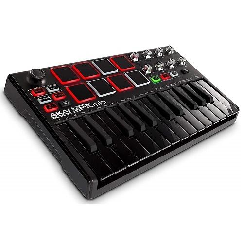 AKAI MPK MINI2 BLACK midi klavijatura kontroler