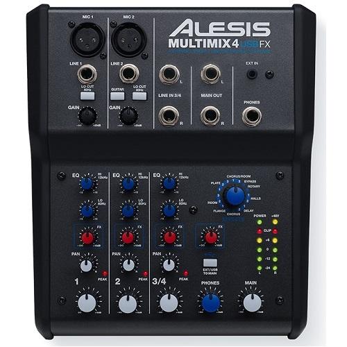 ALESIS MultiMix 4 USB FX audio mikseta