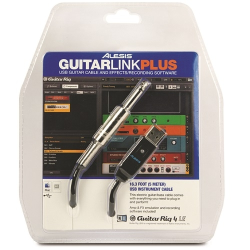 ALESIS GUITARLINK PLUS Computer Guitar-Processing System