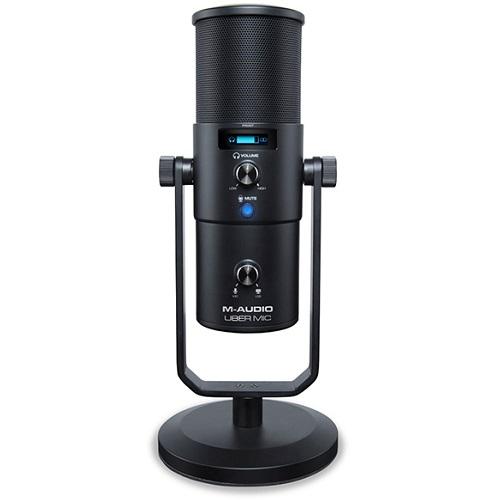 M-AUDIO UBER MIC profesionalnu USB mikrofon sa izlazom za slušalice