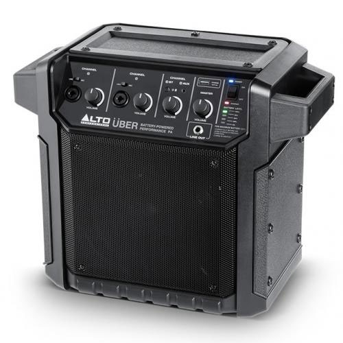 ALTO UBER PA 50-WATT PORTABLE RECHARGEABLE BLUETOOTH PA sistem