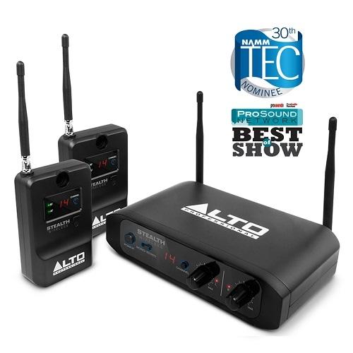 ALTO STEALTH stereo bežični sistem za aktivne zvučnike