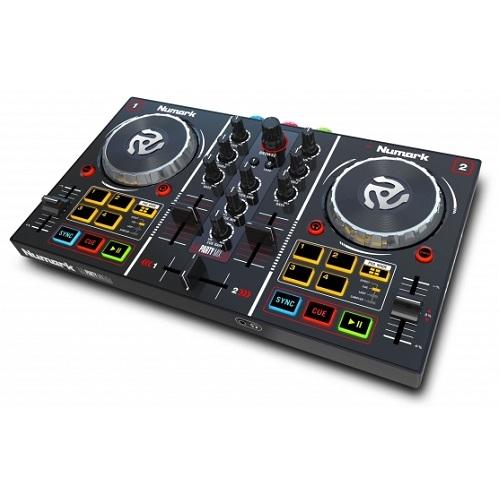 Numark PARTYMIX - DJ kontroler sa ugrađenim light show