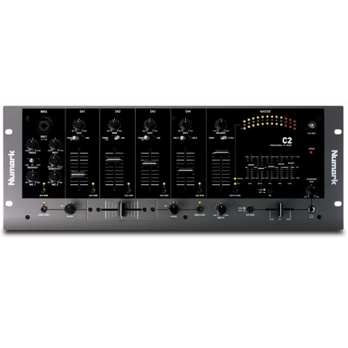 Numark C2 4 kanalna rackmount - DJ mikseta