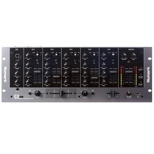 Numark C3-USB 5 kanalna rackmount - DJ mikseta