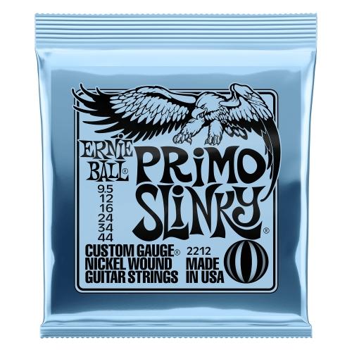 Ernie Ball Slinky P02212 PRIMO NICKEL WOUND 9.5-44 žice za gitaru