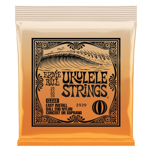 Ernie Ball Slinky P02329 Concert Soprano Nylon Ball End CLEAR - žice ukulele