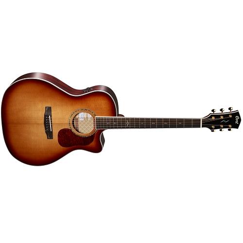CORT akustična gitara GOLD A8 W/CASE-LB ozvučena sa koferom