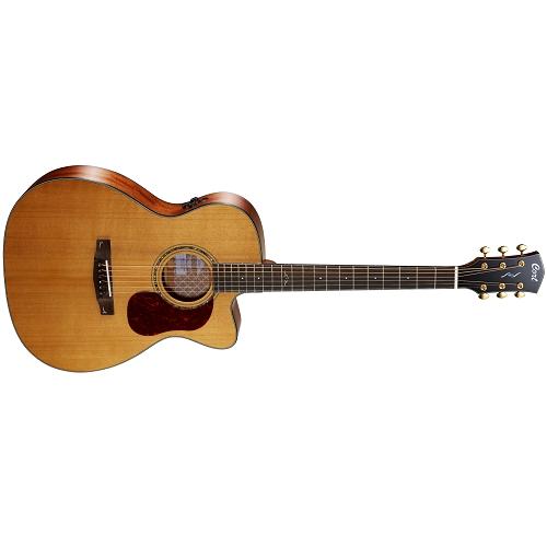 CORT akustična gitara GOLD OC6 W/CASE-NAT ozvučena sa koferom