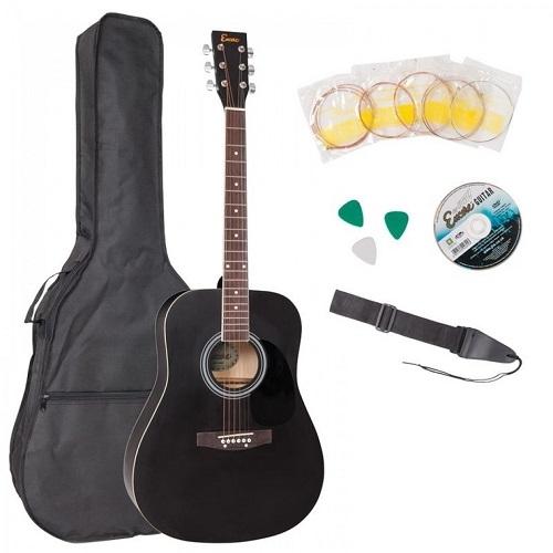 ENCORE EWP-100BK akustična gitara set