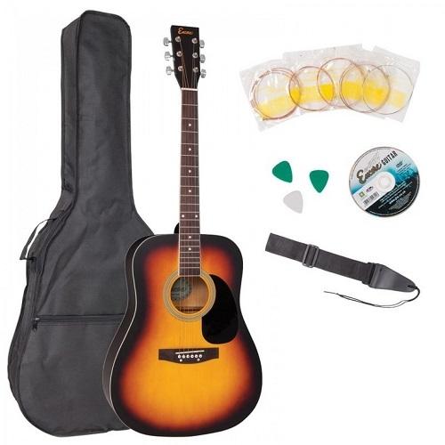 ENCORE EWP-100SB akustična gitara set