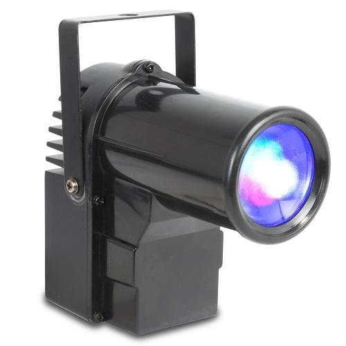 SAR Easy Light 10SL MINI-SPOT PINSPOT 10W LED RGBW DMX svjetlosni efekat