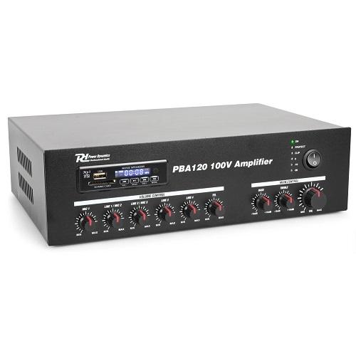 Power Dynamic PBA120 120watt 952.120 100V pojačalo