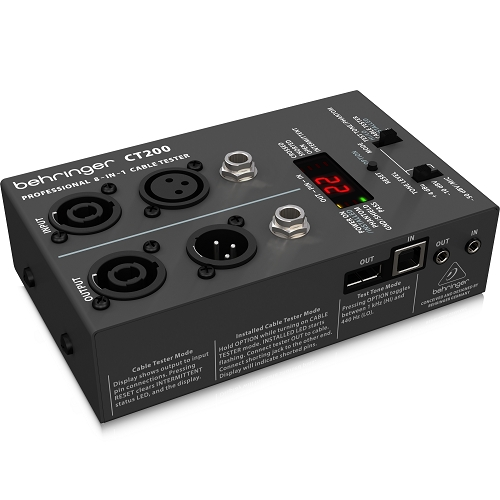 BEHRINGER CT200 kabel tester