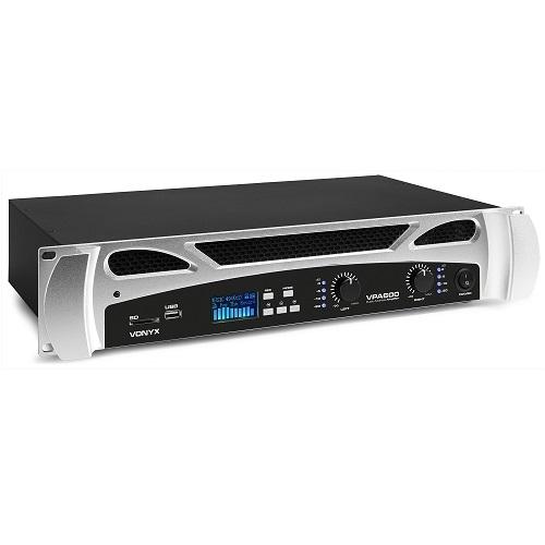 VONYX VPA600 172.095 2x300watt pojačalo sa MEDIA PLAYEROM
