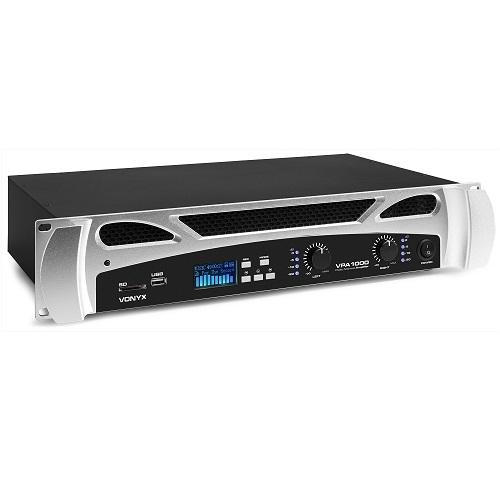 VONYX VPA1000 172.098 2x500watt pojačalo sa MEDIA PLAYEROM
