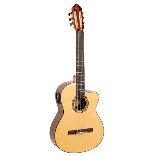 Valencia Klasična gitara VC564CE W/B DELUXE ozvučena natural satin