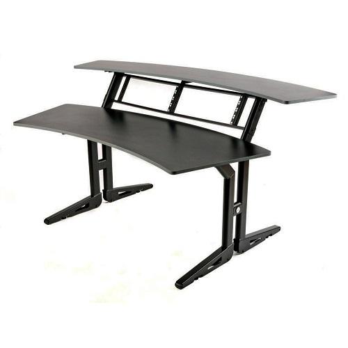 Q-LOK Z630 BK dual level project desk system - studio stol