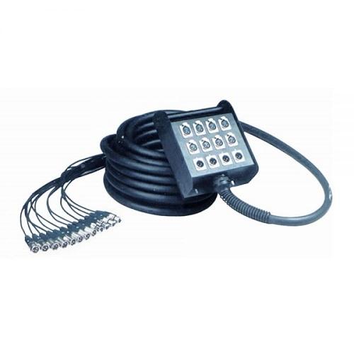Q-LOK BOX604-10K 12 kanala 8+4 (xlr-xlr) 10m multi kabel