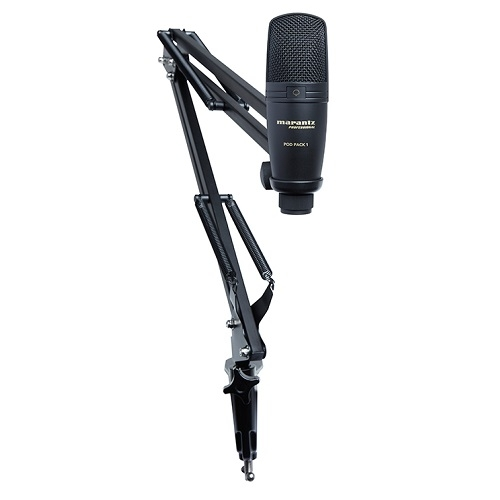MARANTZ PODPAK1 - USB Microphone sa Broadcast stalkom i kabelom