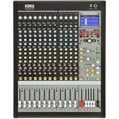 KORG SoundLink MW1608 hybrid analogno-digitalna aduio mikseta