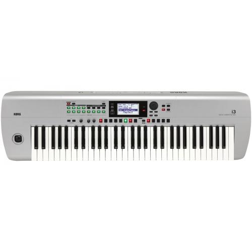 KORG i3 - MS professional arranger workstation siva boja - klavijatura
