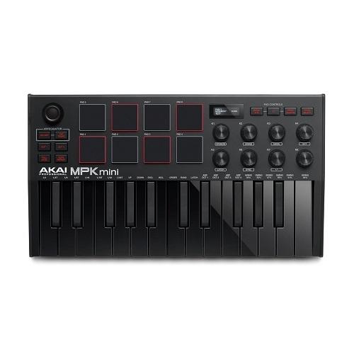AKAI MPK MINI-3B BLACK midi klavijatura kontroler