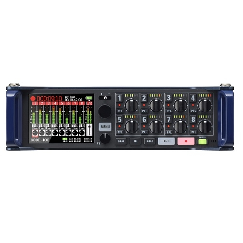 ZOOM F8n Multitrack field audio recorder