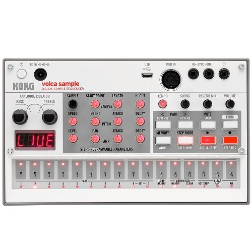 KORG VOLCA-SAMPLE-2 analog sampler