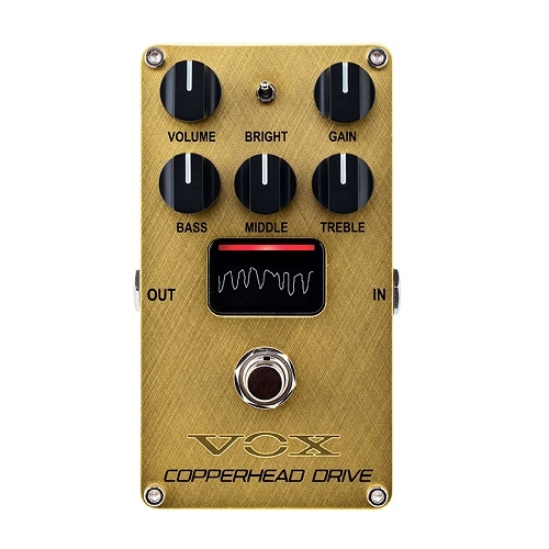VOX VE-CD VALVENERGY COPPERHEAD DRIVE Overdrive/Distortion efekt pedala za gitaru